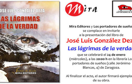 José Luis González Deza presenta su novela en Zaragoza